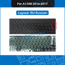 New Laptop Big Enter key RU Russian Layout A1708 Keyboard For Macbook Pro Retina 13″ 2016 2017 Russia keyboard Replacement
