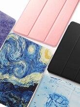 Чехол для планшета xiaomi mi pad 4 mipad 4 mipad4 8 дюймов, чехлы для планшетов, флип-чехлы из искусственной кожи, смарт-чехлы с функцией сна, пробуждения и...