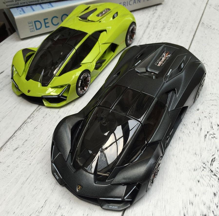 Bburago 1/24 1:24 Scale Lamborghini Terzo Millennio Racing Sports Car Diecast Display Alloy Model Children Boys Toy
