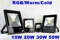 Ac85 265v ao ar livre levou holofote RGB 10 W 20 W 30 W 50 W à prova d ' água Led praça luz túnel luz Spotlight|Holofotes| |  -