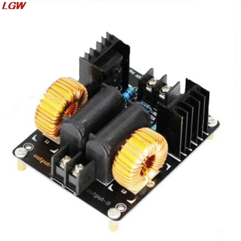 ZVS coil power supply for Tesla coil power supply Induction board heating module High voltage generator drive board new tesla coil high power generator of high voltage with tesla commonly used coil motherboard pipe