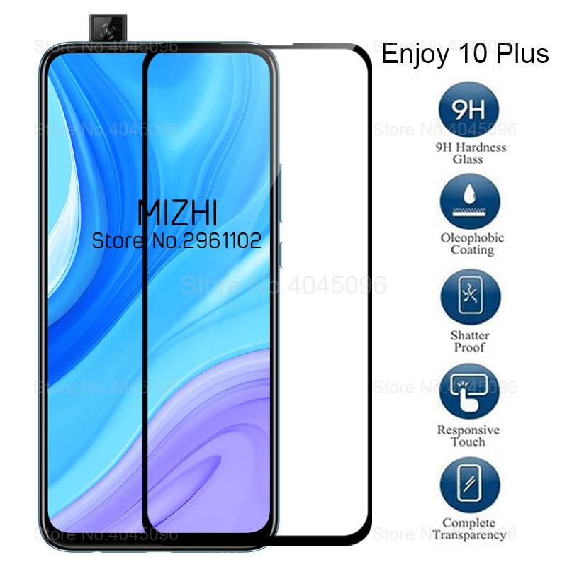 Protective Glass For Huawei Enjoy 10 Plus Tempered Glass On Huwei Enjoy 10plus Y9s Y 9s Enjoy10+ Screen Protector Film 6.59