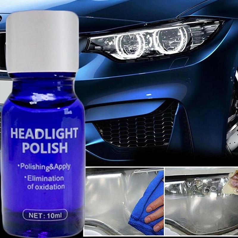 Kit de Solution de revêtement pour réparation de phares de voiture, 10/30ML, l'oxydation des rétroviseurs, polissage, liquide anti-rayures, nouvelle collection