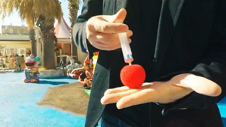 RED par Edouard Boulanger (Gimmick et Instructions en ligne), gros plan tour de Magie accessoires mentalisme Magie gros plan Magie de rue Fun