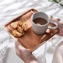 Lovesicnness деревянная твердая сковорода Фруктовая тарелка