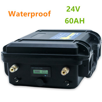 24V 60AH lithium battery pack 24v 60ah lithium ion battery pack with BMS  for electric motor,RV, boat,backup power