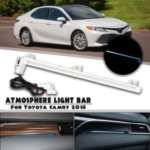 Светодиодный декоративный светильник для салона автомобиля, для Toyota Camry Altis XV70, 2018, 2019