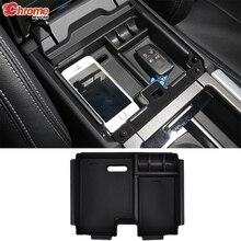 For Range Rover Evoque Center Console Organizer Tray Armrest Storage Box Glove Case Bin Pallet Car Accessories 2011   2016 2017
