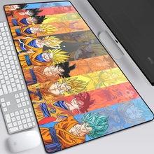 أنيمي غوكو ماوس الوسادة ألعاب لوحة مفاتيح الكمبيوتر المحمول حصيرة للبنين الألعاب ماوس كمبيوتر كبير 900x400 مللي متر ماوس حصيرة هدية الكريسماس