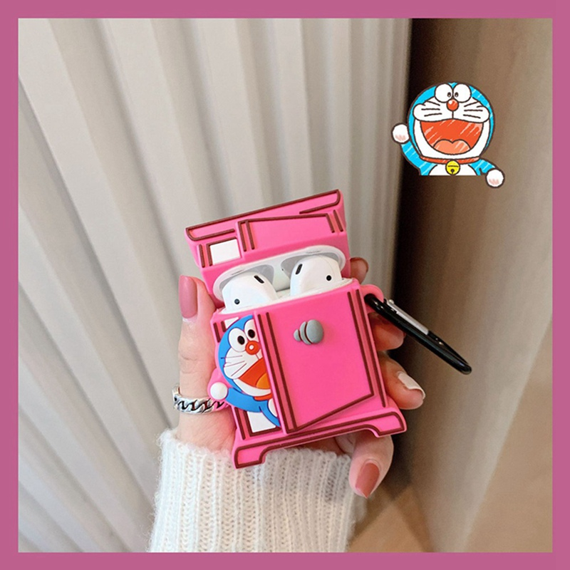 Silicone Stitch Cat Case for AirPods pro 2
