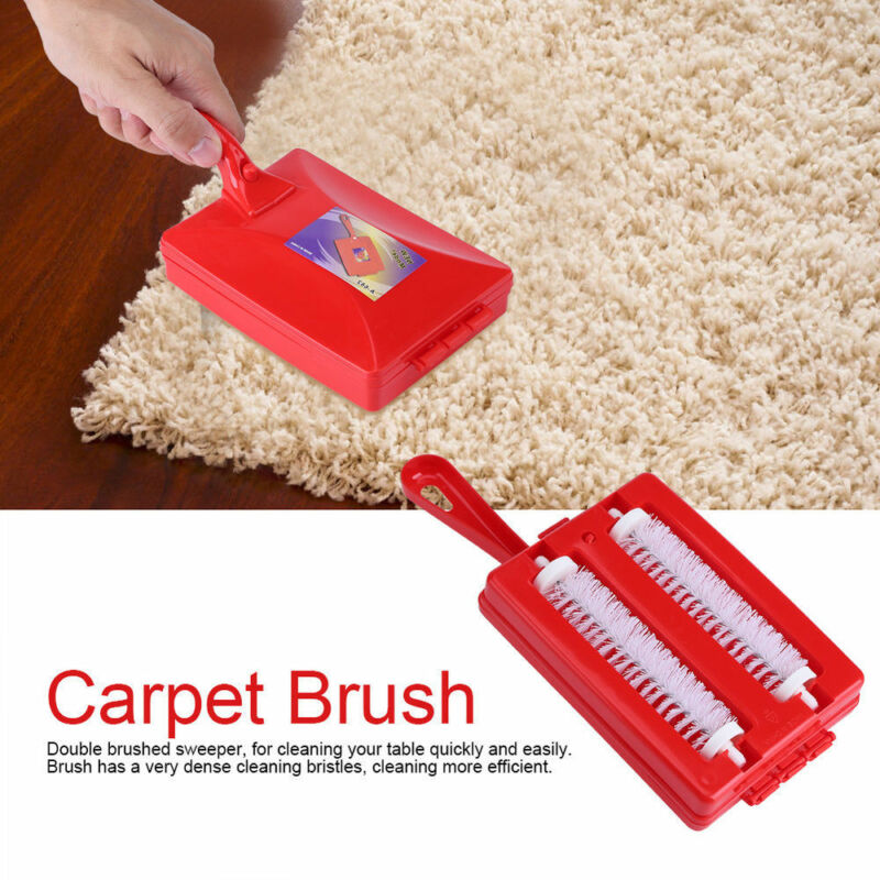 Handeld Carpet Crumb Brush Collector Portable Hand Held Table Sweeper Home Kitchen Dirt Cleaner image
