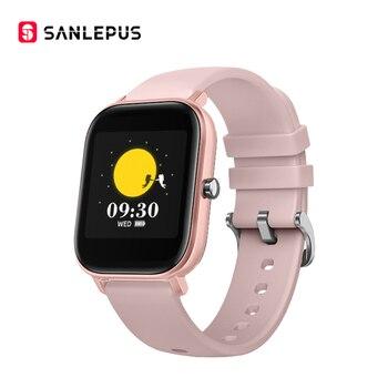 SANLEPUS Global Version Smart Watch IP67 Waterproof Smartwatch 2020 New Men Women Fitness Bracelet Band For Android Apple Xiaomi 10