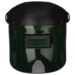 Image 5 - Solar Sensor Auto Lasfilters Masker Welder Gezicht Shield Beschermende Helm Cap Voor Argon Arc Gas Lassen 90*34mm Weergavegebied