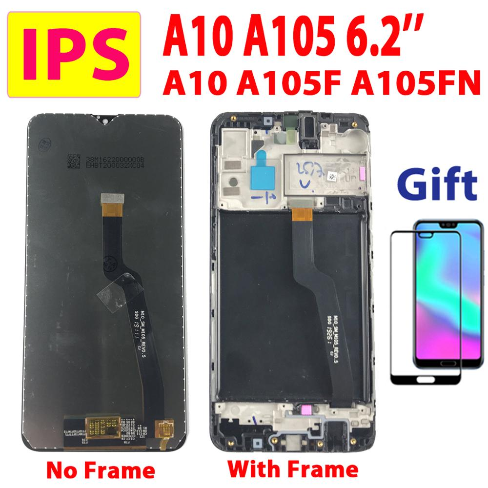 6.2'' Test IPS For <font><b>Samsung</b></font> Galaxy <font><b>M10</b></font> M105 <font><b>LCD</b></font> For <font><b>Samsung</b></font> A10 A105 Display Touch <font><b>Screen</b></font> Digitizer A105F Assembly <font><b>LCD</b></font> Frame A10 image