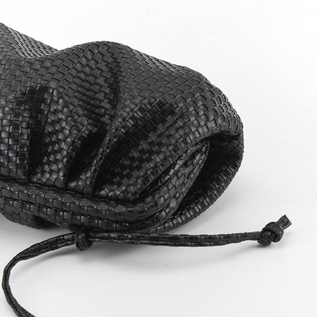 SNV Handwoven Soft Leather Cloud Bag