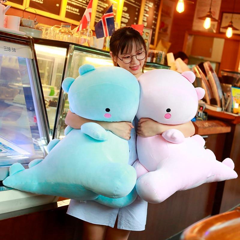 1pc 30-50cm Soft Lovely Dinosaur Plush Doll Stuffed Dino Toy Kids Huggable Animal Dragon Plush Pillows Cartoon Gift for Kids