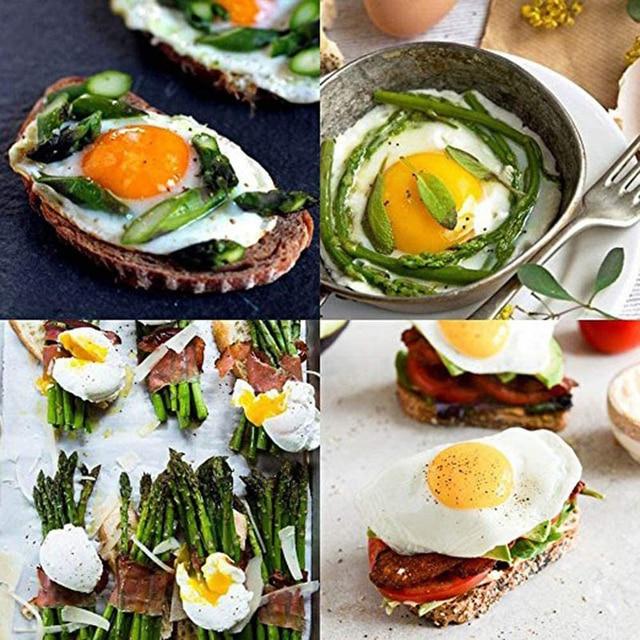 4 sztuk/zestaw jajo silikonowe kłusownik kłusownictwo Pods kuchenka kocioł jajko formy miska pierścienie naleśnikarka narzędzia kuchenne akcesoria do gotowania