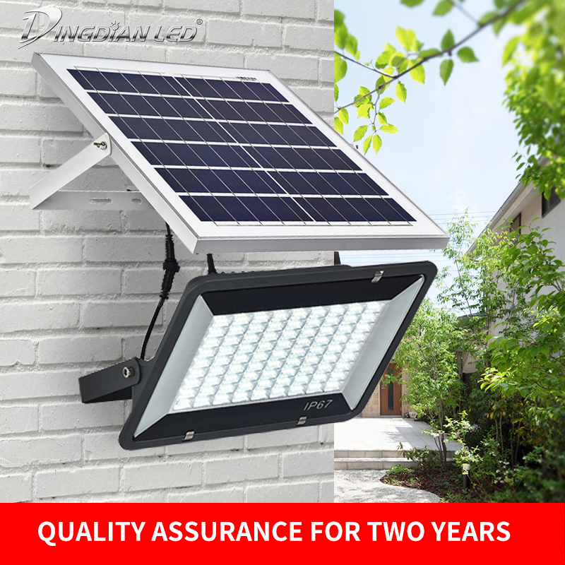 Solarpanel für LED Spot Outdoor Baustrahler 10W//20W AKKU