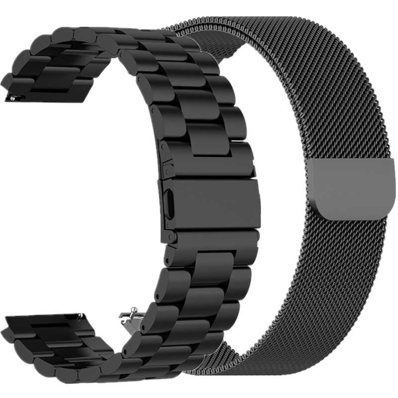 18mm sport strap for Fossil Gen 4 Q Venture HR / Gen 3 Q Venture Smartwatch Steel bracelet strap band for Huawei honor S1 belt
