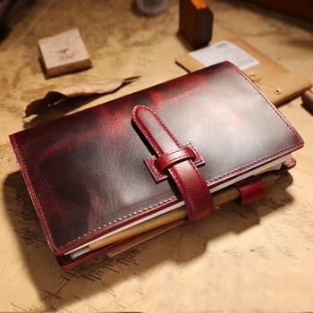 IPBEN Multifunction Traveler's Notebook Travel Journal a6 Handmade 2020 vintage diary