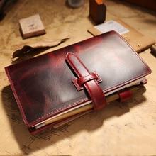 IPBEN Multifunction Traveler's Notebook Travel Journal a6 Handmade Vintage Diary Sprial Recording Memos Gife Agenda 2021
