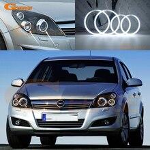 Für Opel Astra H 2004 2010 Xenon scheinwerfer Ausgezeichnete Ultra helle CCFL Angel Eyes Halo Ringe kit auto Zubehör