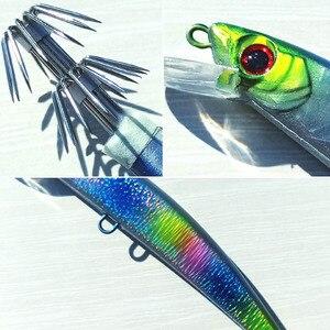 Image 5 - 5 шт., 14 см/23 г, тонущий джиг осьминог, джиг кальмар, искусственная жесткая приманка для рыбной ловли