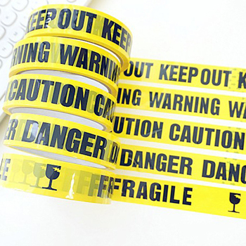 1 Roll 25m Warning Tape Danger Caution Barrier Remind Work Safety Adhesive Tapes DIY Sticker For Mall Store School - discount item  72% OFF Workplace Safety Supplies