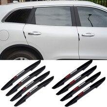 4PCS Tür Seite Schutz Aufkleber für Honda Civic Accord City CRV HRV Jazz Pilot Odyssey Auto Außen Stoßstange Streifen zubehör