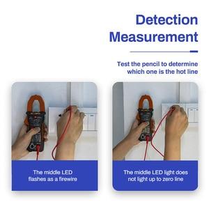 Image 3 - 4000 zählt Voll Intelligent Automatische Range Digital Strom Multimeter AC/DC Zangen Voltmeter Amperemeter Elektrische Instrumente