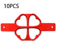 4 Hole Hearts-10PCS