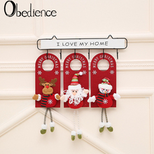Obedience Christmas decoration storefront creative lintel pendant hanging cartoon old man Snowman doll door small gifts