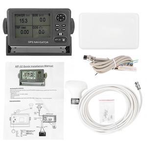 ONWA KP-32 GPS/SBAS Marine Navigator 4.5 inch LCD Display GPS Navigation Locator Dangerous route alarm Navigation Positioner(China)