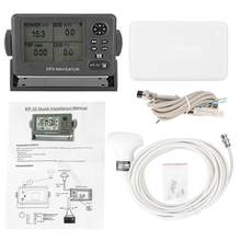 ONWA-navegador marino KP-32 GPS/SBAS, localizador de navegación GPS, pantalla LCD de 4,5 pulgadas, posicionador de navegación impermeable