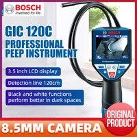 Bosch GIC120C Endoscope Industrial Peeper HD Camera Pipe Car Engine Detector