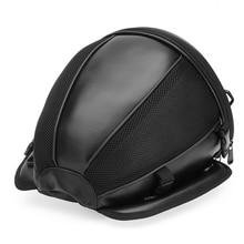 Black High Quality Waterproof Motorcycle Backpack Tail Tank Bag Multi-functional Leather Sports Motorbike Durable Rear Seat Bag аксессуар чехол devia neon multi functional waterproof bag black
