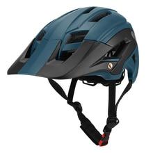 Bicycle-Helmet Detachable-Visor Safety-Protective-Helmet-Equipment Cycling Mountain-Bike