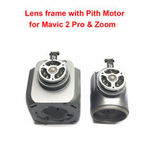 Original Repair Parts Lens Frame with Pitch Motor for DJI Mavic 2 Pro & Zoom Drone Gimbals Motor Spare Parts(used)