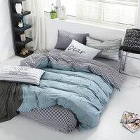 100% algodão de cetim conjunto de cama  edredon  capa de edredon  lençol  almofada  capa com colcha  dupla/queen tamanho acolchoado