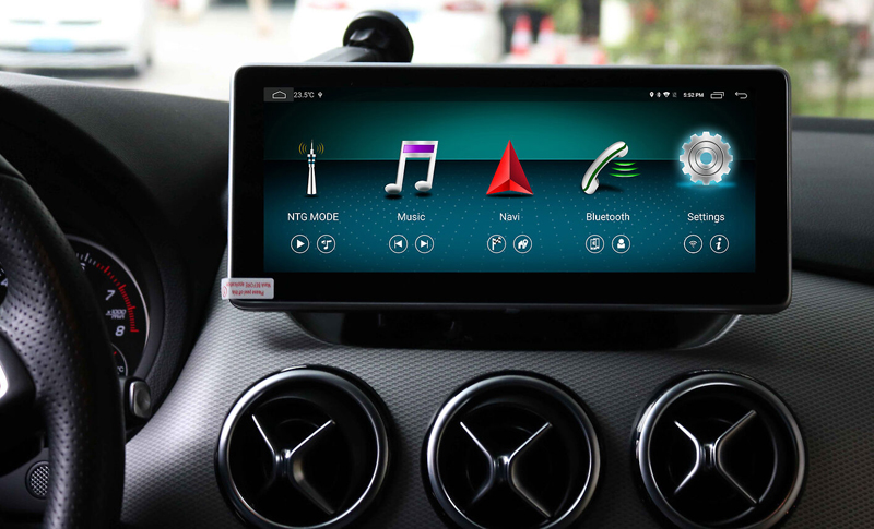 <font><b>10.25</b></font> inch 4+64G Android Multimedia Player Touch Screen for <font><b>Mercedes</b></font> Benz B Class <font><b>W246</b></font> 2011-2017 Car Radio GPS Navigation Wifi image