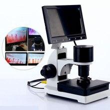 Nailfold Microcircolazione Capillare Rivelatore Digitale Microscopio Microcircolazione Sanguigna Strumento Display LCD Opzionale