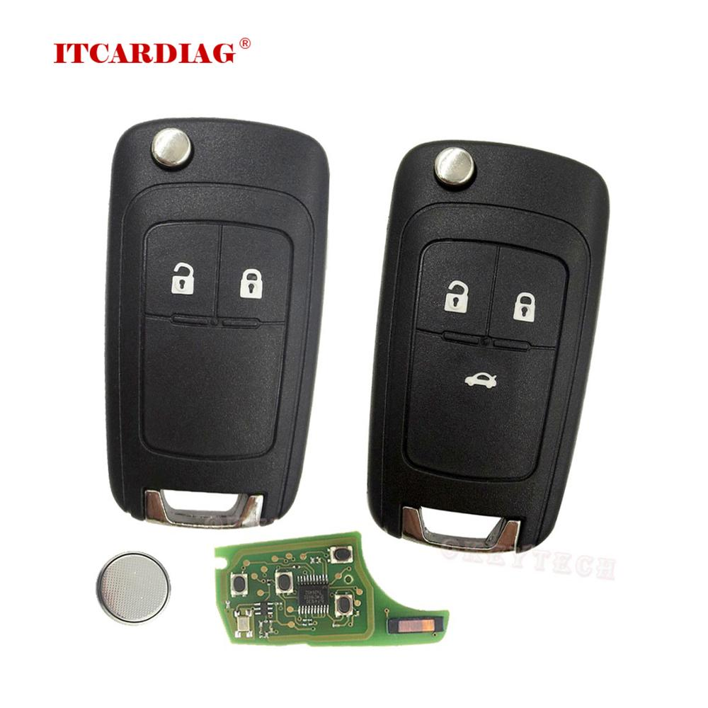 2 Buttons 3 Buttons Complete Flip Car <font><b>Remote</b></font> <font><b>Key</b></font> For <font><b>Opel</b></font> <font><b>astra</b></font> h <font><b>g</b></font> j Vauxhall <font><b>Key</b></font> Replace 433MHZ ID46 Electronic Chip On Board image