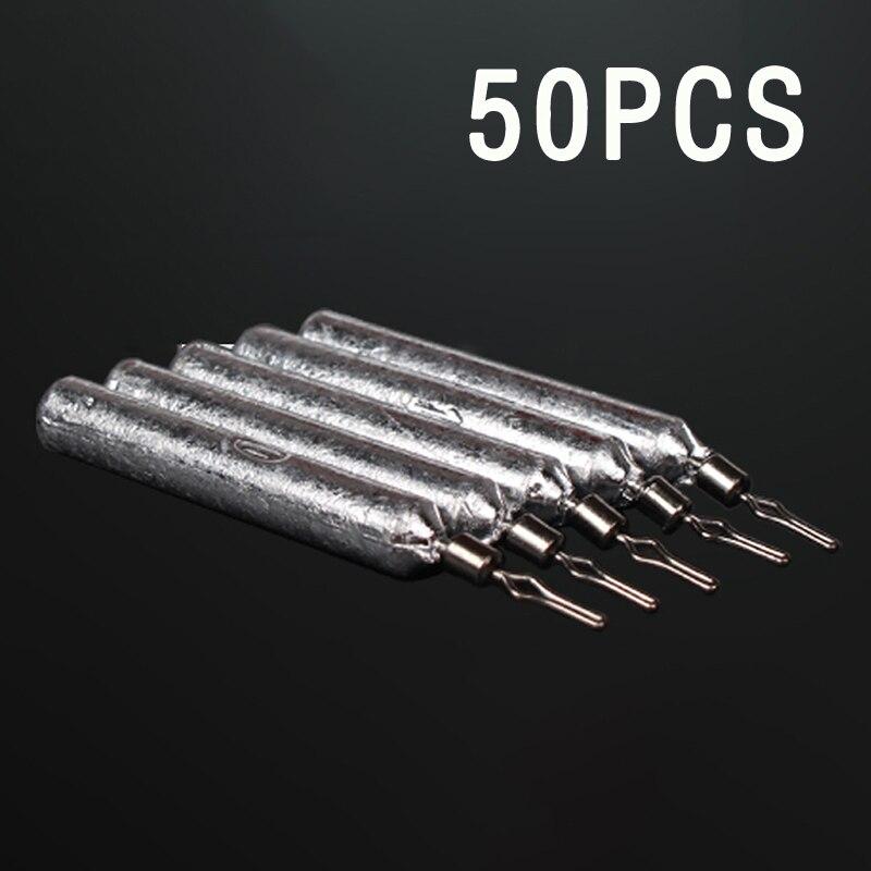 100pcs Size 2 DO-IT Mould Loops-Lead Loops Sinker Eyes Lead-Making Nickel