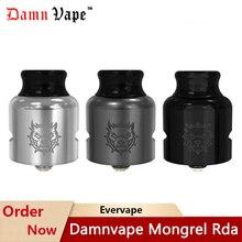 Atomizer Mech Damnvape Mongrel Drip-Tip Cigarett Rda Bf for Mod-Vs-Profile 510-Pin/810