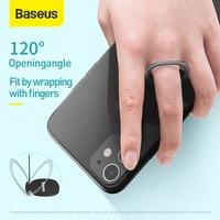 Baseus Mini Phone Ring Finger Ring Holder Metal Phone Stand Mount Portable Ring Holder for Xiaomi Samsung Tablet Mobile Phone