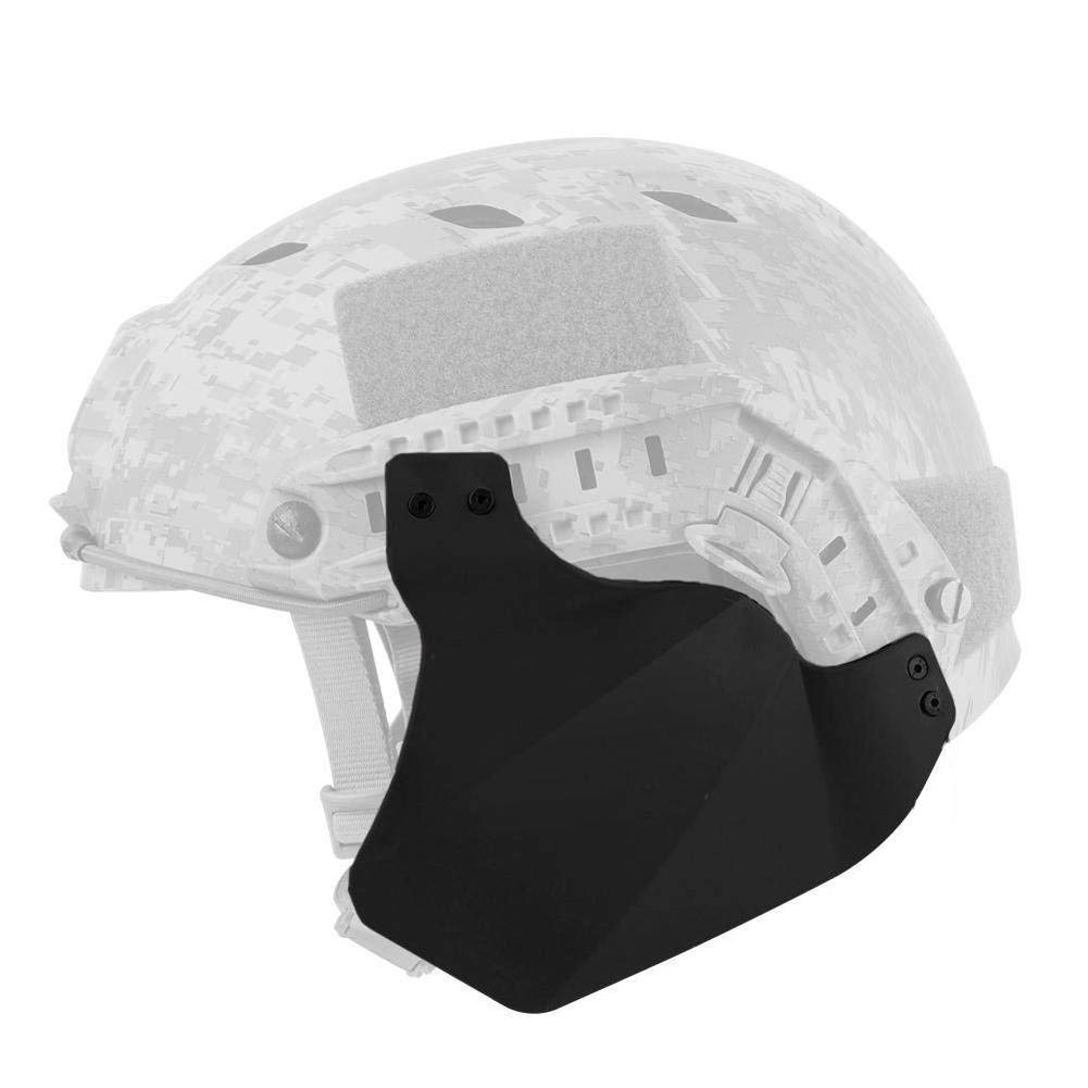 Боковая крышка для быстрого шлема страйкбола, военный тактический шлем, аксессуары, мягкий резиновый материал, два чехла для защиты ушей