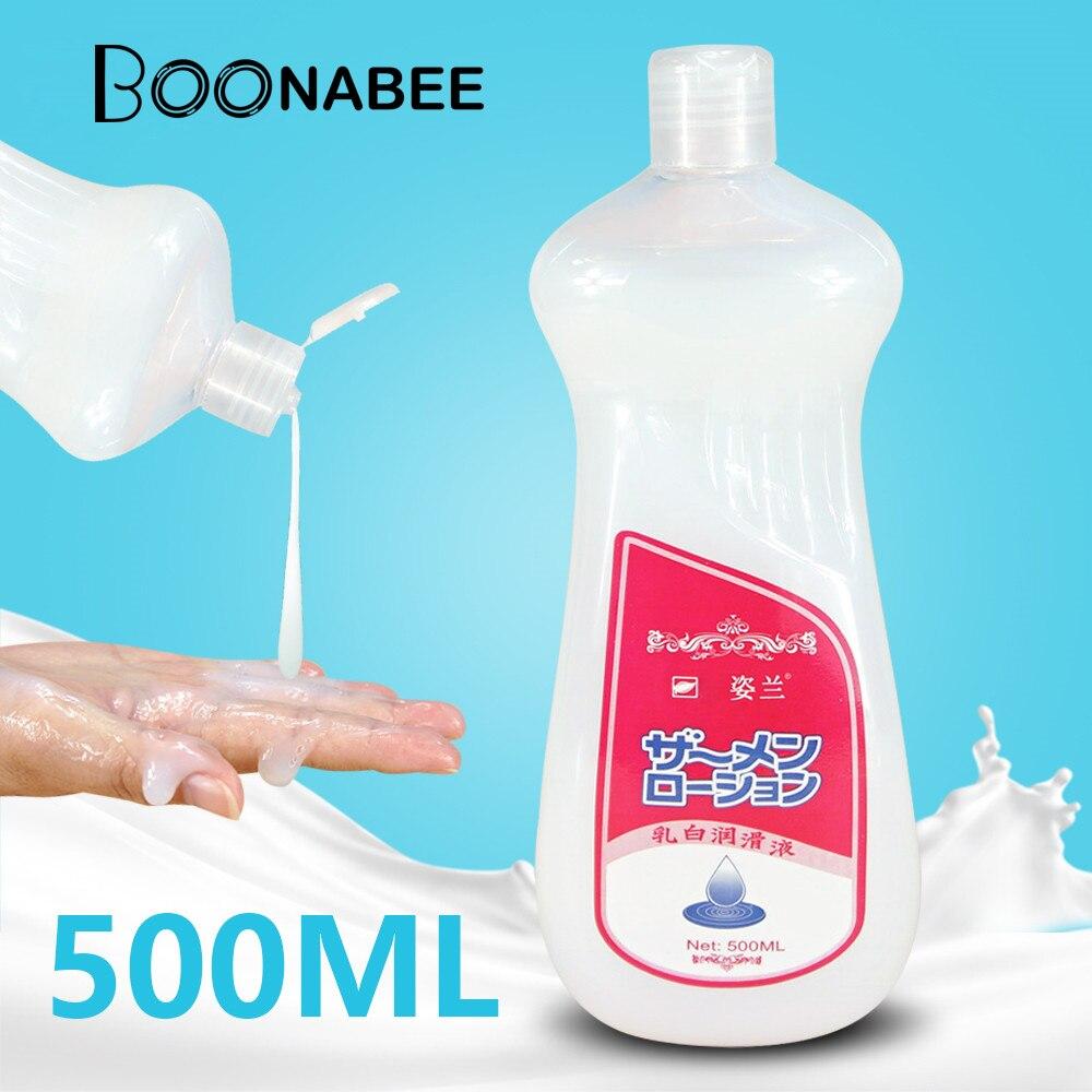 Имитировать Семен 500 мл сексуального Крем смазка Av для секса водная Личная секс смазки анальный вагинальный лубрикант