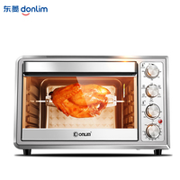 Household 38L Mini Oven Electric Oven Pizza High Capacity Convection Electric Oven for Bread Toaster Roast Chicken 220V 2000W