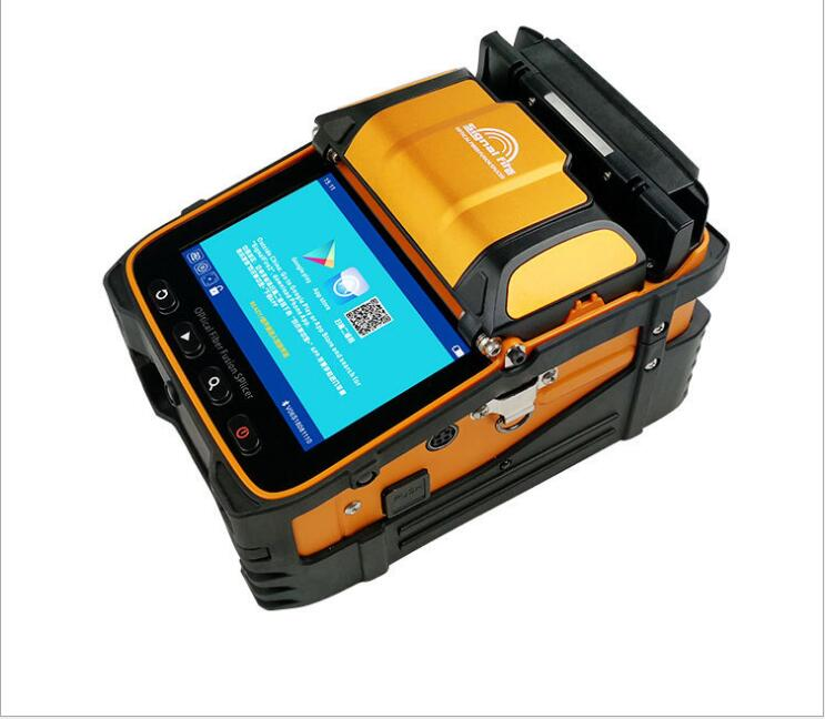 Image 3 - Signal Fire 5 Inch TFT Screen AI 9 Fiber Fusion Splicer FTTH Project 6 Motors Optical Power Meter VFL-in Transmission & Cables from Security & Protection