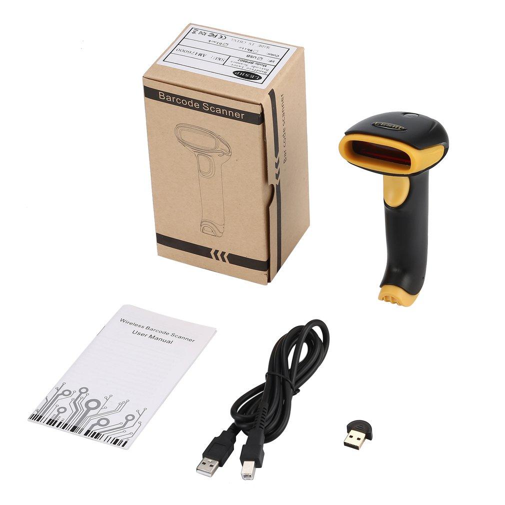 LESHP BP9502BL Drahtlose Bluetooth 4,0 + USB 2.0 Verdrahtete Laser Barcode Scanner Handheld Bar Code Reader Einfach zu Bedienen